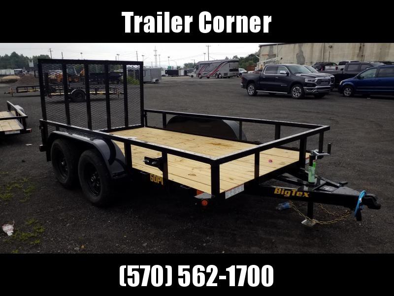 2022 Big Tex Trailers 60PI 77X12 6K - TUBE TOP Utility Trailer