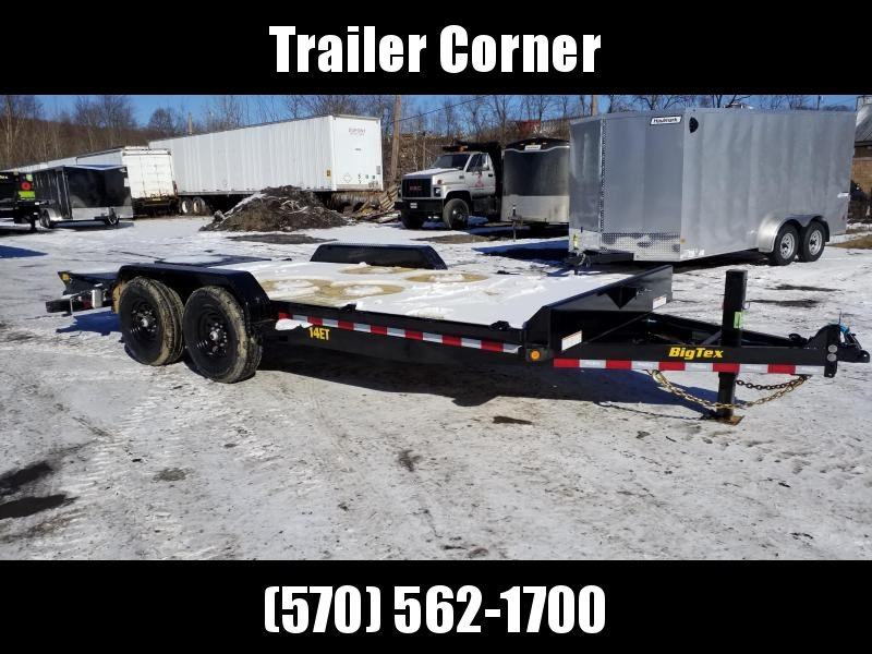 2021 Big Tex Trailers 14ET - 18 - MEGA RAMPS Equipment Trailer