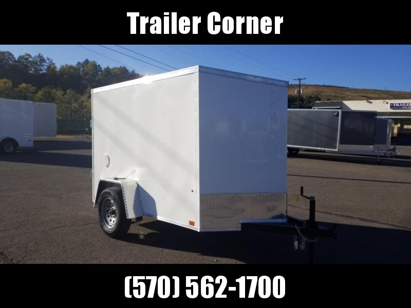 2021 Look Trailers STLC 5X8 DLX - RAMP Enclosed Cargo Trailer