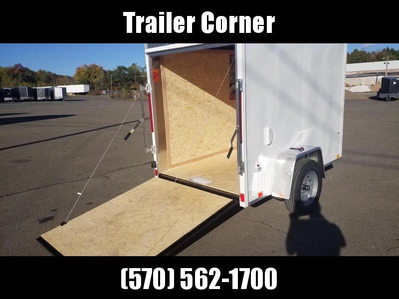 2021 Look Trailers STLC 5X8 DLX - RAMP Enclosed Cargo Trailer