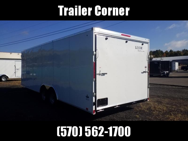 2021 Look Trailers ST 8.5X24 10K DLX Car / Racing Trailer