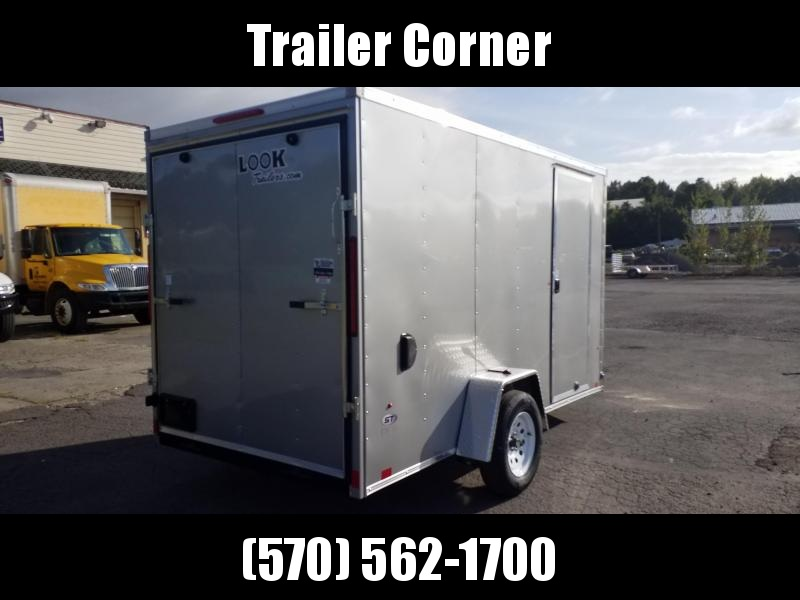 2021 Look Trailers STLC 6X12 RAMP - EXTRA HEIGHT Enclosed Cargo Trailer