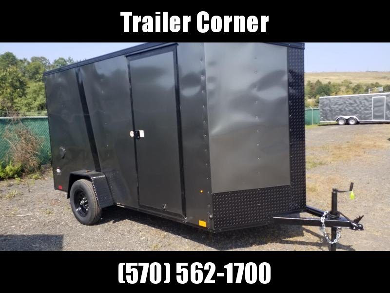 2021 Look Trailers STLC 6X12 EXTRA HEIGHT - BLACKED OUT Enclosed Cargo Trailer