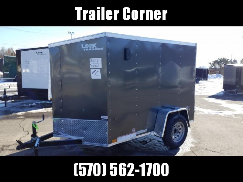 2022 Look Trailers STLC 5X8 - BARN DOOR Enclosed Cargo Trailer
