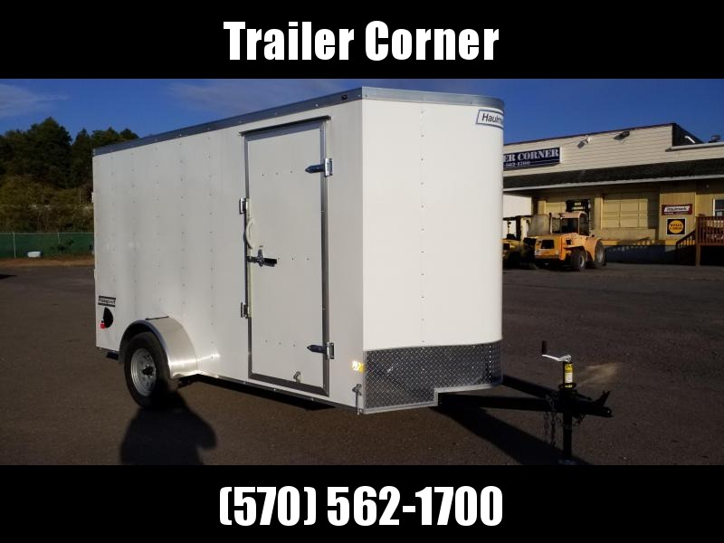2021 Haulmark PPT 6X12 EXTRA HEIGHT DRINGS  RAMP DOOR Enclosed Cargo Trailer