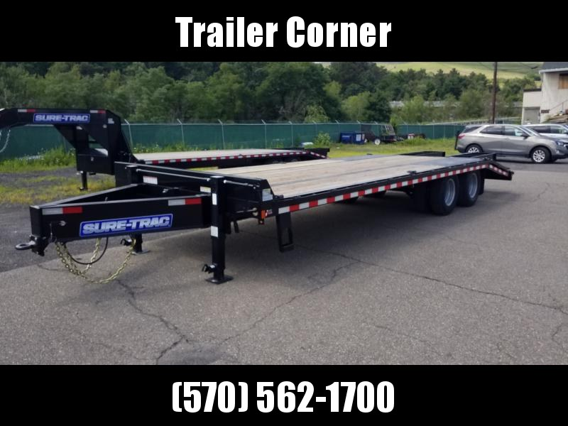 2020 Sure-Trac 22.5GN 20+5  Flatbed Trailer
