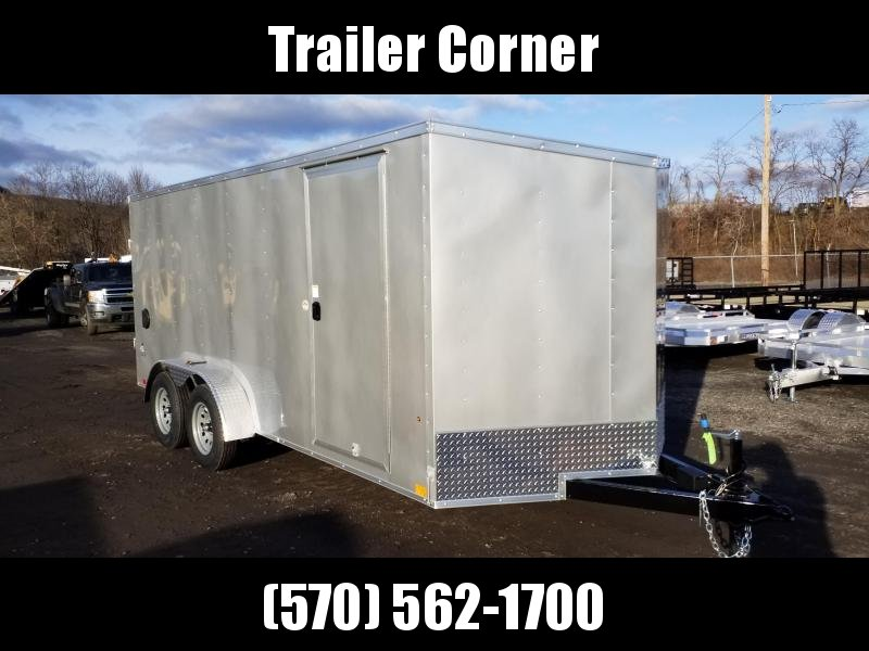 2021 Look Trailers STLC 7X16 - RAMP DOOR Enclosed Cargo Trailer