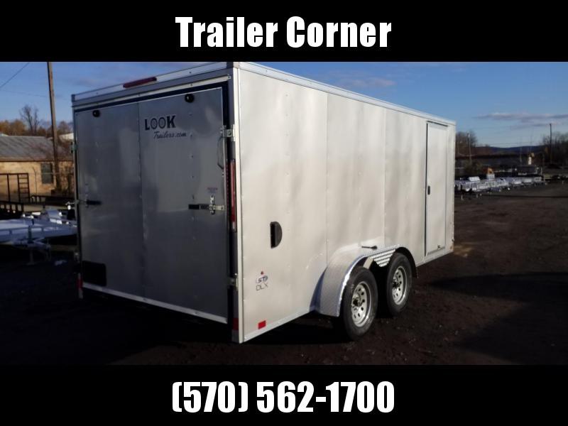 2021 Look Trailers STLC 7X16 - RAMP DOOR Enclosed Cargo Trailer