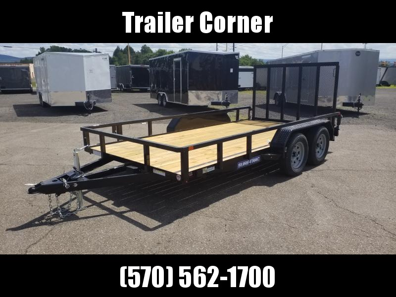 2021 Sure-Trac 7X14 7K TUBE TOP Utility Trailer