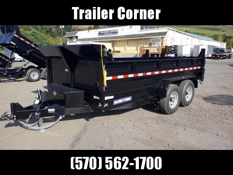 2021 Sure-Trac 7X14 14K SCISSOR - TARP Dump Trailer