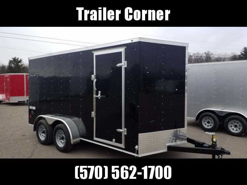 2021 Haulmark PPT 7X14 - RAMP DOOR Enclosed Cargo Trailer