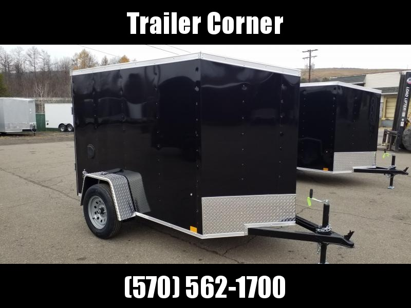2021 Look Trailers STLC 5X8 - RAMP DOOR Enclosed Cargo Trailer