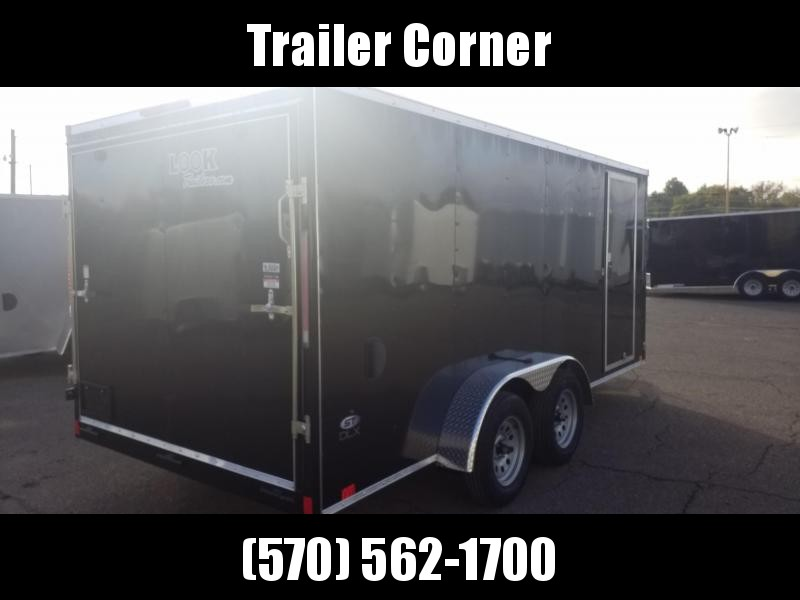 2021 Look Trailers STLC 7X16 RAMP DOOR Enclosed Cargo Trailer