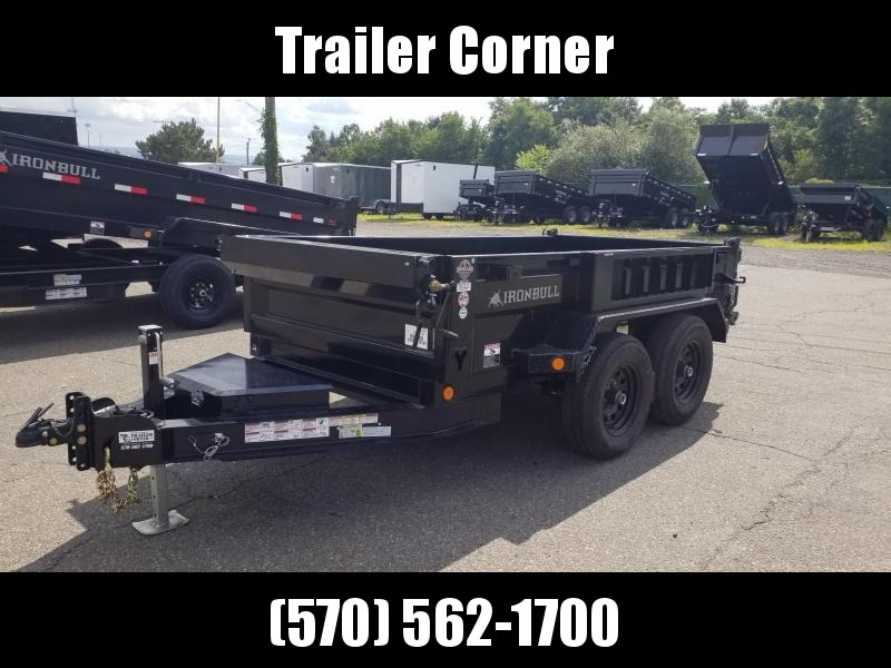 2022 Iron Bull 5X10 10K - SCISSOR - RAMPS - TARP Dump Trailer