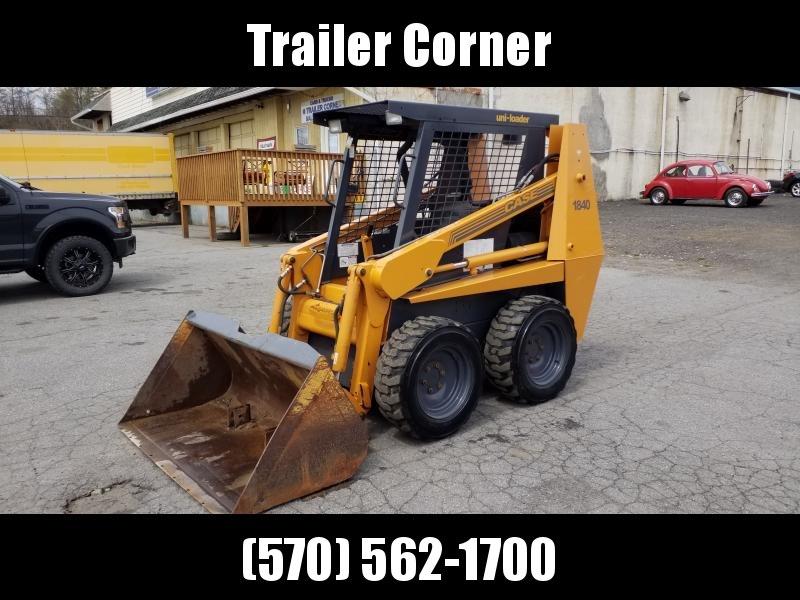 1991 Case 1840 SKIDSTEER Construction