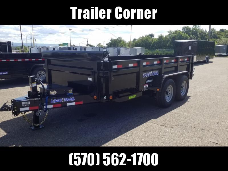 2022 Load Trail 7X14 14K - SCISSOR - RAMPS - TARP KIT Dump Trailer