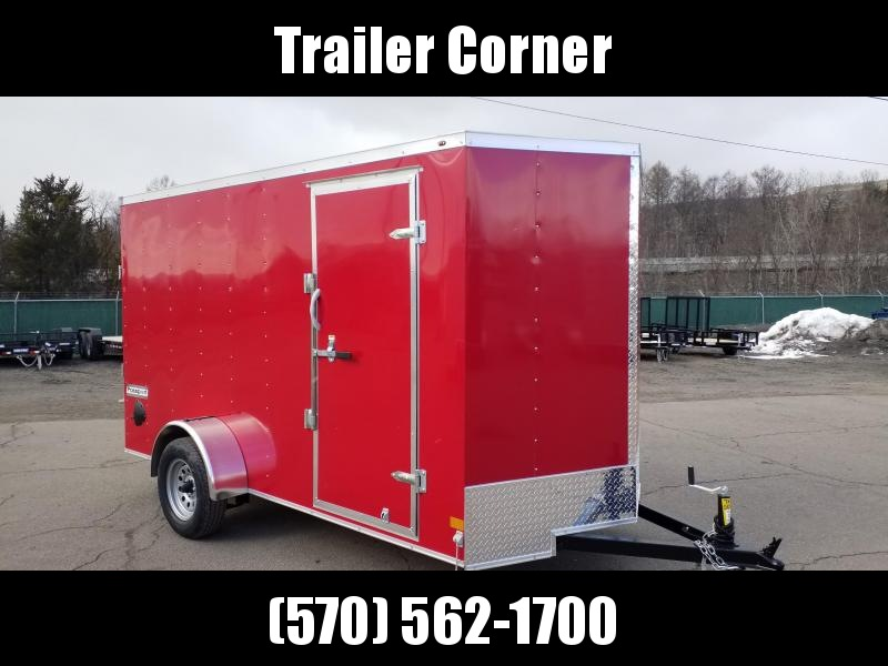 2021 Haulmark PPT 6X12 - RAMP DOOR Enclosed Cargo Trailer