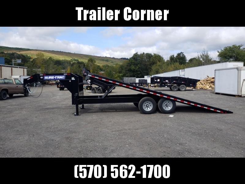 2022 Sure-Trac 101X22 15K POWER TILT Flatbed Trailer