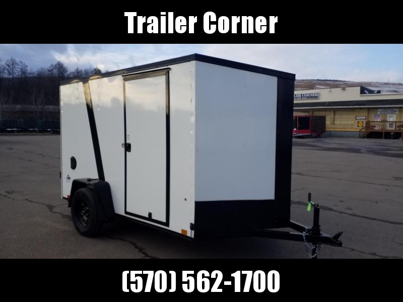 2022 Look Trailers STLC 6X10 - BLACKED OUT - RAMP Enclosed Cargo Trailer