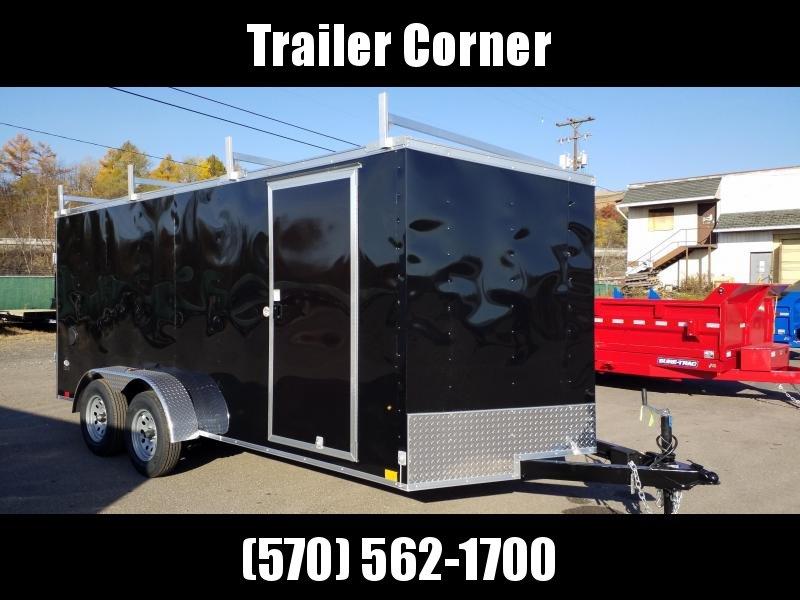 2022 Look Trailers STLC 7X16 - RAMP - 4 LADDER RACKS Enclosed Cargo Trailer