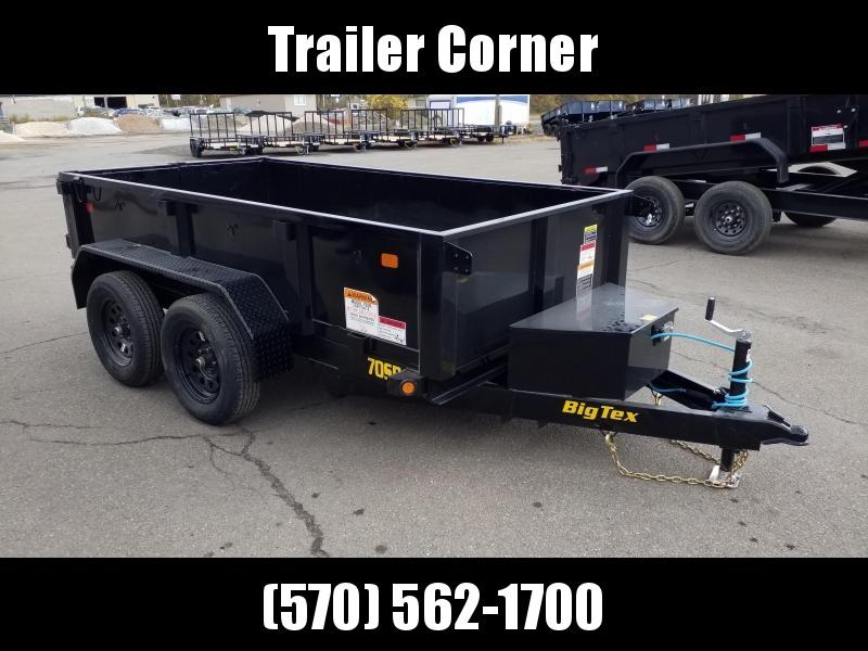 2021 Big Tex Trailers 70SR-5X10 7K Dump Trailer