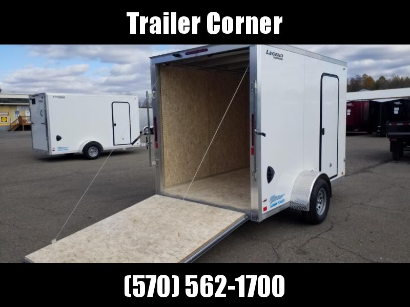 2021 Legend Trailers THUNDER 6X11 ALUMINUM Enclosed Cargo Trailer