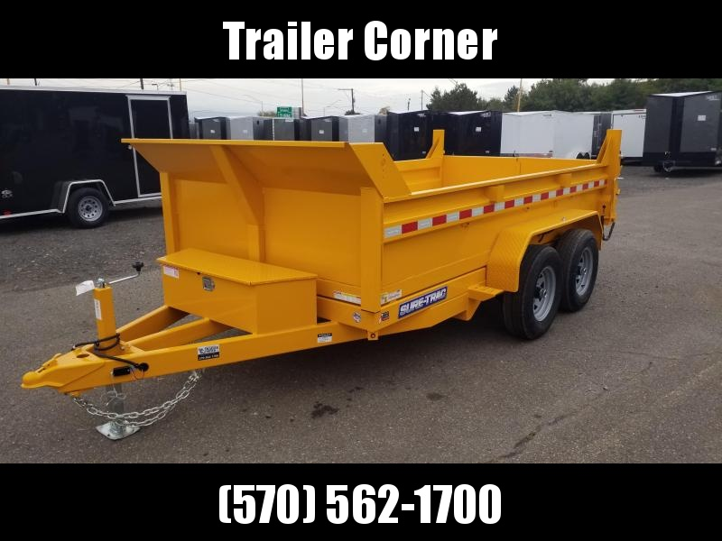 2021 Sure-Trac 6X12 10K DUMP - RAMPS Dump Trailer