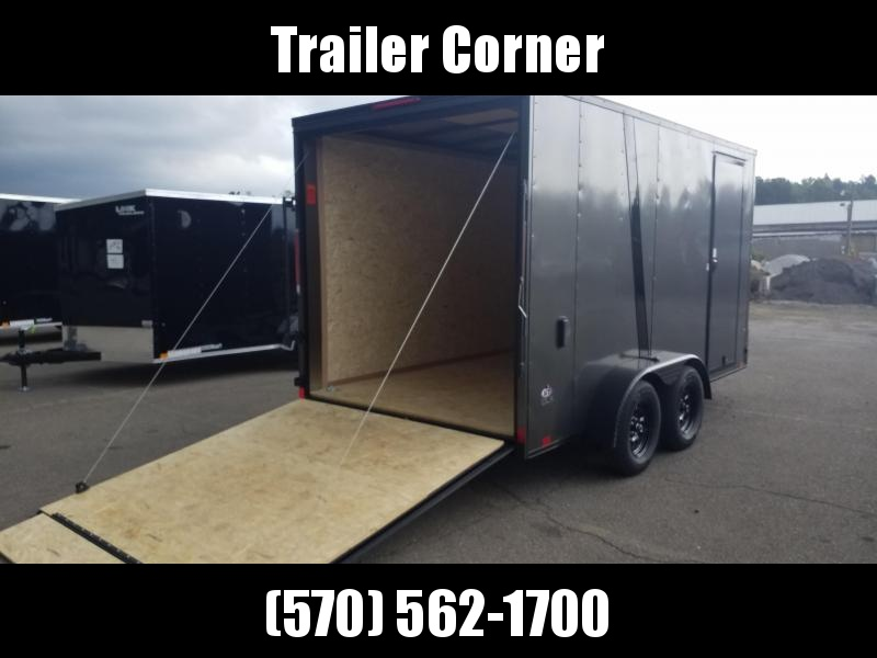 2022 Look Trailers STLC 7X14 - UTV HEIGHT - BLACKED OUT Enclosed Cargo Trailer