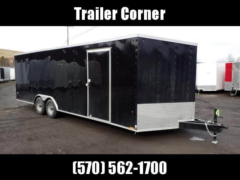 2021 Look Trailers ST 8.5X24 10K DLX ESCAPE DOOR  Car / Racing Trailer