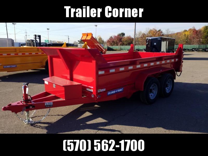 2021 Sure-Trac 6X12 10K DUMP - RAMPS Dump Trailer