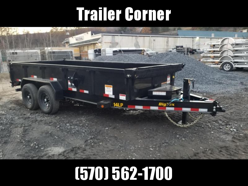 2021 Big Tex Trailers 14LP 7X16 14K - TARP - RAMPS Dump Trailer