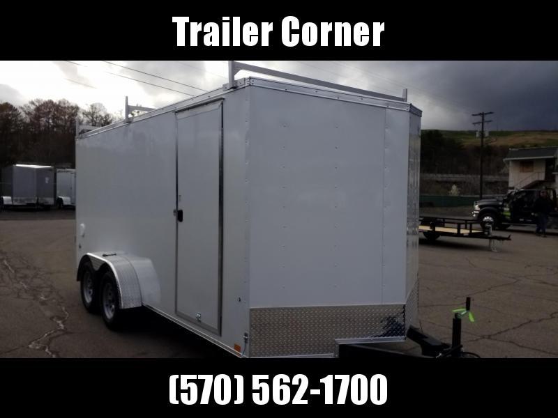 2022 Look Trailers STLC 7X16 - LADDER RACKS - RAMP DOOR Enclosed Cargo Trailer