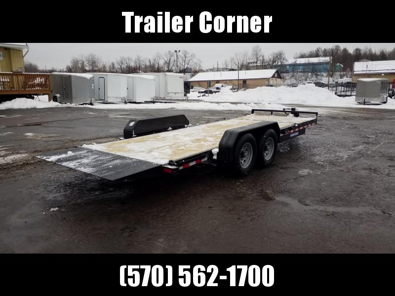 2021 Sure-Trac 7x18+4 TILT 14K Equipment Trailer