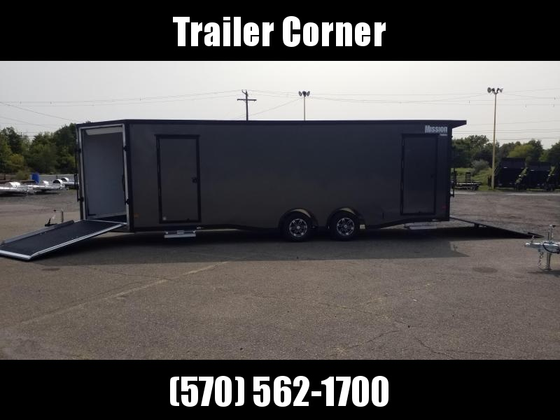 2021 Mission 8.5X24 ALUMINUM ALL SPORT Snowmobile Trailer