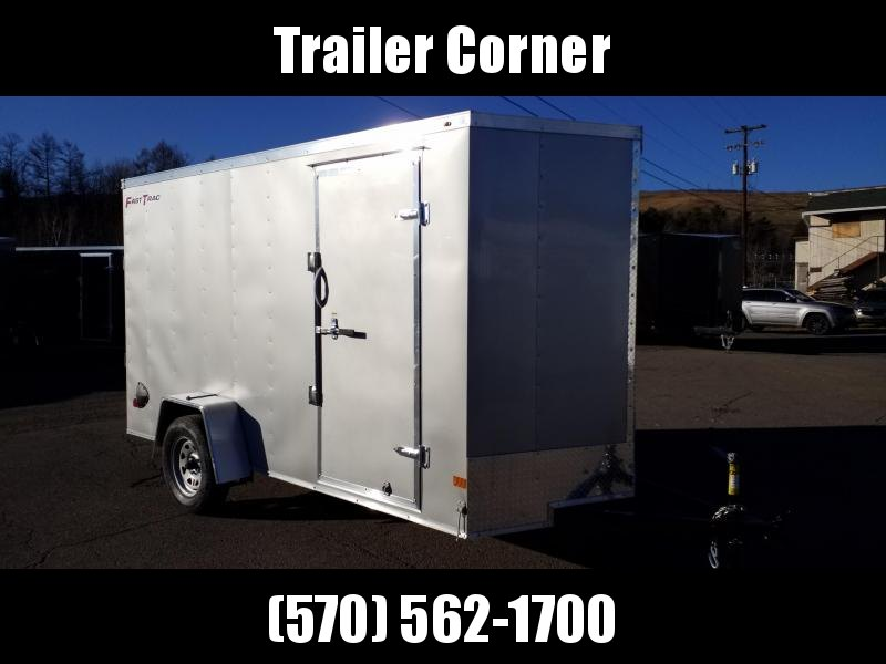 2021 Wells Cargo FT 6X12 - EXTRA HEIGHT - RAMP - RINGS Enclosed Cargo Trailer