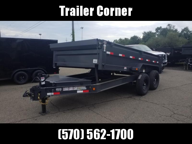 2022 Iron Bull 7X14 14K - RAMPS - TARP KIT Dump Trailer