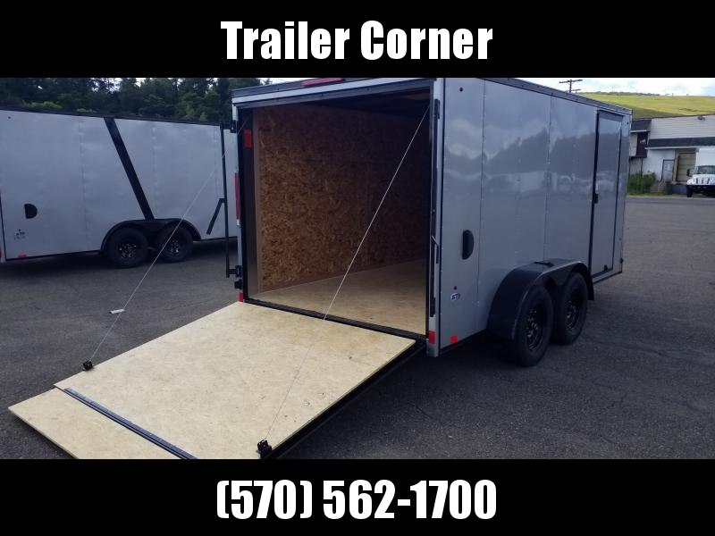 2021 Look Trailers STLC 7X14 BLACKED OUT Enclosed Cargo Trailer
