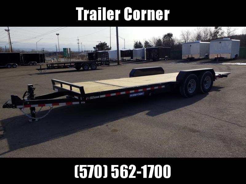 2021 Sure-Trac 7X18+4 14K TILT Equipment Trailer