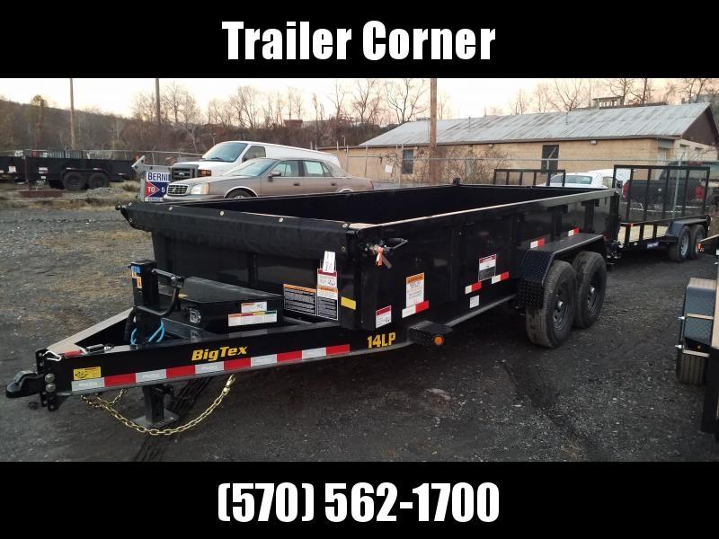 2021 Big Tex Trailers 14LP 7X16 14K - TARP - RAMPS Dump Trailer