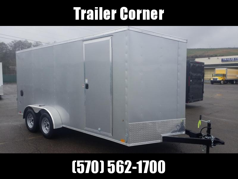 2022 Look Trailers STLC 7X16 - EXTRA HEIGHT - RAMP Enclosed Cargo Trailer