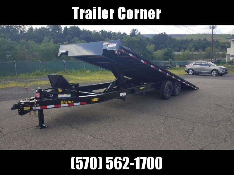 2020 Big Tex Trailers 14OT-24 POWER TILT - BLACKWOOD FLOOR Flatbed Trailer