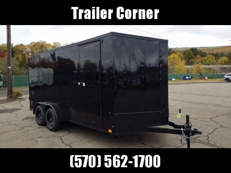 2021 Look Trailers STLC 7X16 - EXTRA HEIGHT - BLACKED OUT Enclosed Cargo Trailer