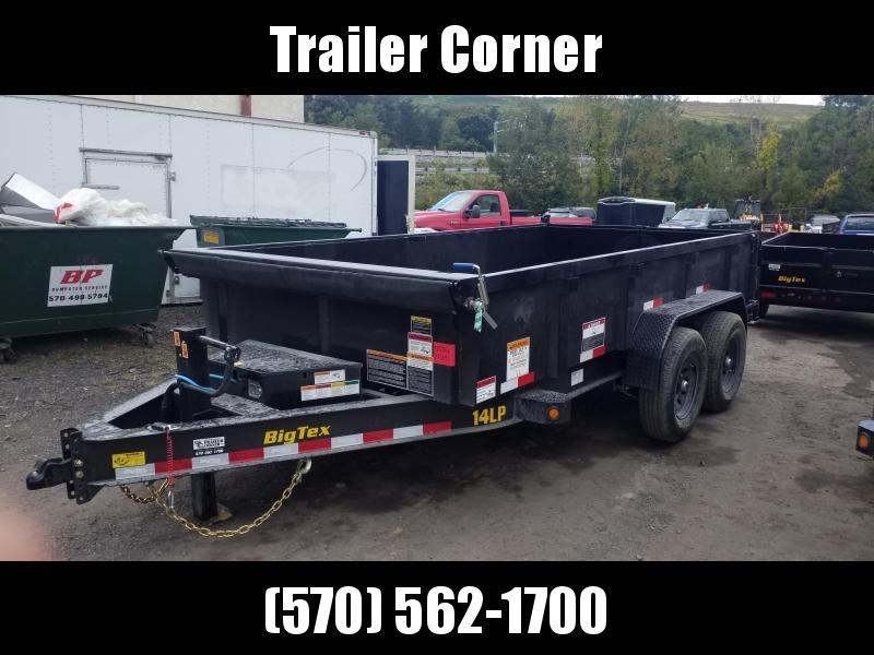 2022 Big Tex Trailers 7X14 - 14K - RAMPS - TARP KIT Dump Trailer