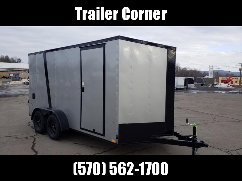 2022 Look Trailers STLC 7X14 - BLACKED OUT - EXTRA HEIGHT - RAMP Enclosed Cargo Trailer