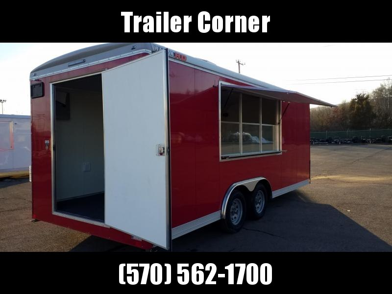 2021 Wells Cargo WHD 8.5X20 7K Vending / Concession Trailer
