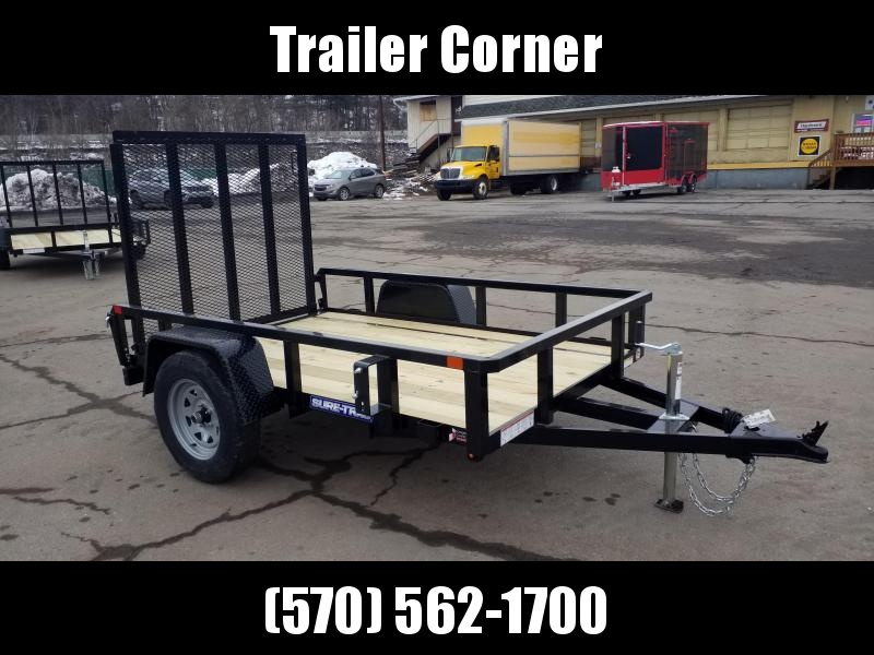 2021 Sure-Trac 5X8 TUBE TOP Utility Trailer