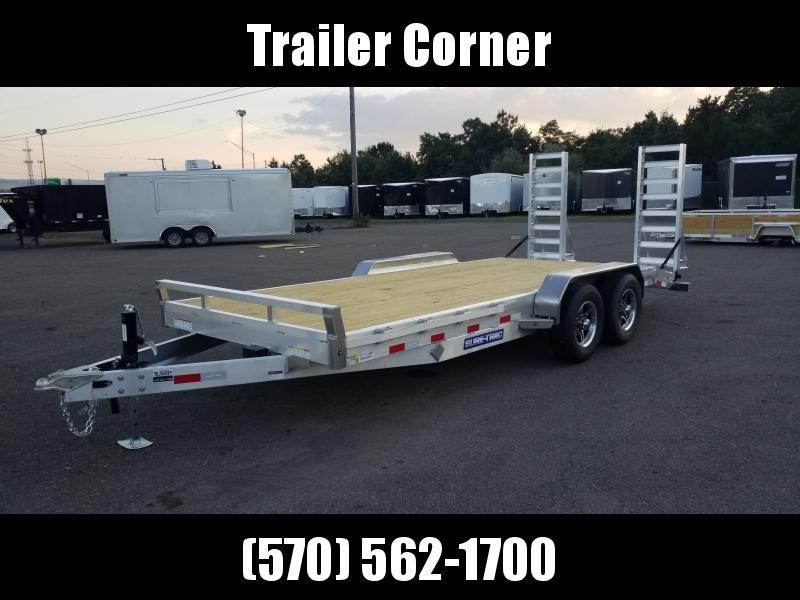 2021 Sure-Trac 7X18 10K ALUMINUM 10K Equipment Trailer