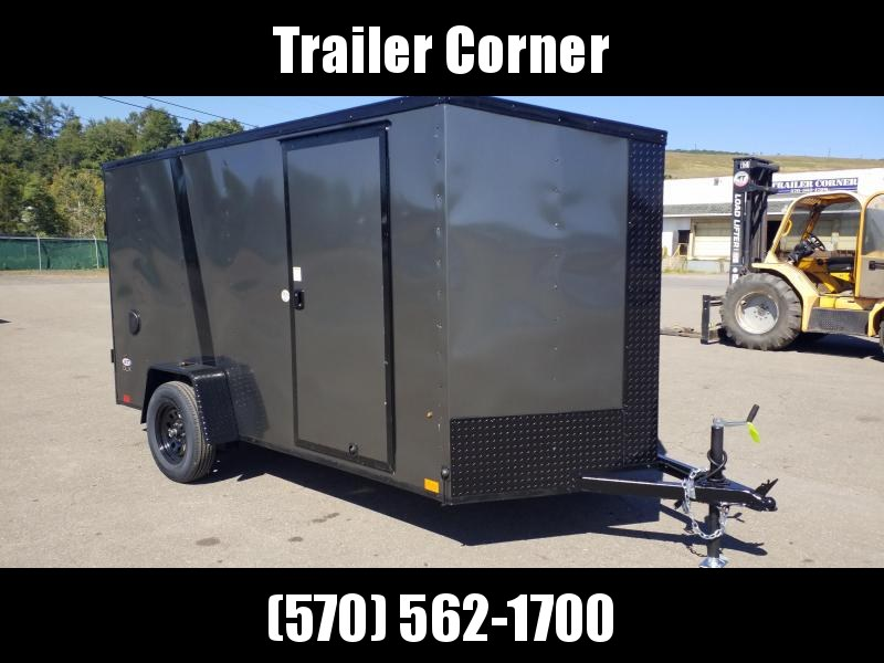 2021 Look Trailers STLC 6X12 BLACKED OUT - RAMP Enclosed Cargo Trailer