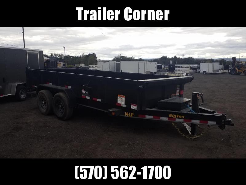 2022 Big Tex Trailers 7X16 14K - RAMPS - TARP KIT Dump Trailer