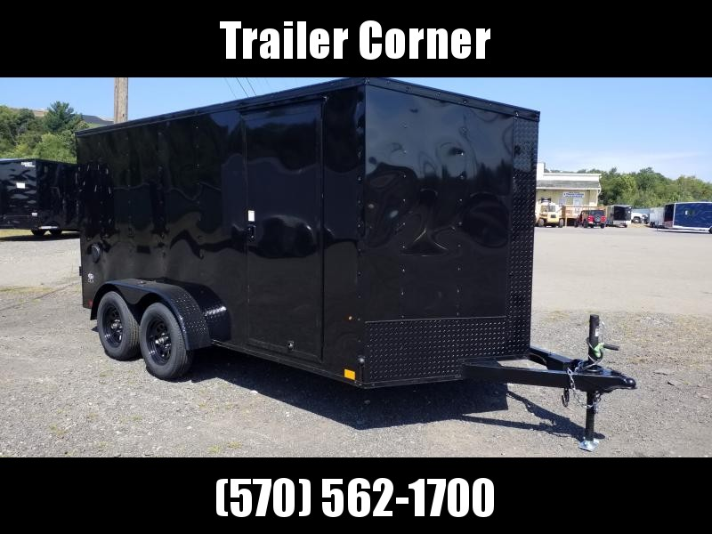 2021 Look Trailers STLC 7X14 RAMP - BLACKED OUT Enclosed Cargo Trailer
